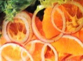 Orange & Onion  Salad