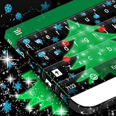 Christmas Lights Keyboard Skin