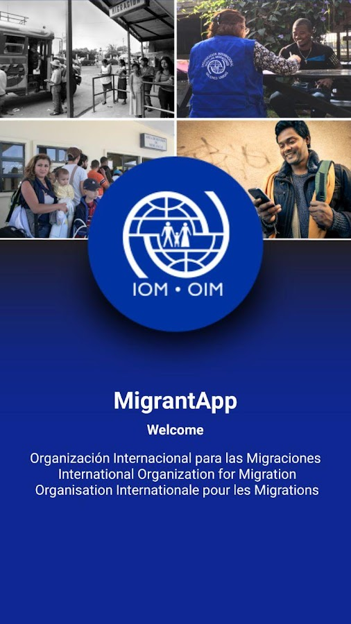 MigrantApp- screenshot