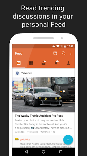 Tapatalk – Forums & Interests v6.4.8