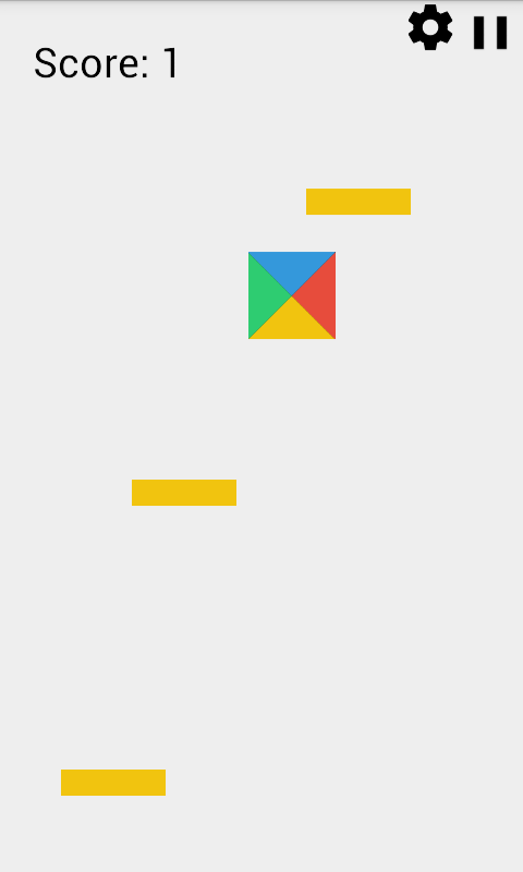Bouncy Square- screenshot