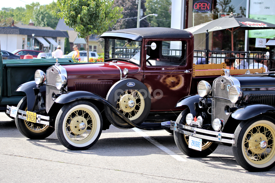 Goderich Car Show 4 by Terry Saxby - Transportation Automobiles ( car, canada, terry, goderich, show, ontario, saxby, nancy )