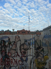 Photo: At Plaza de Mayo, known to be the center for protests in Argentina