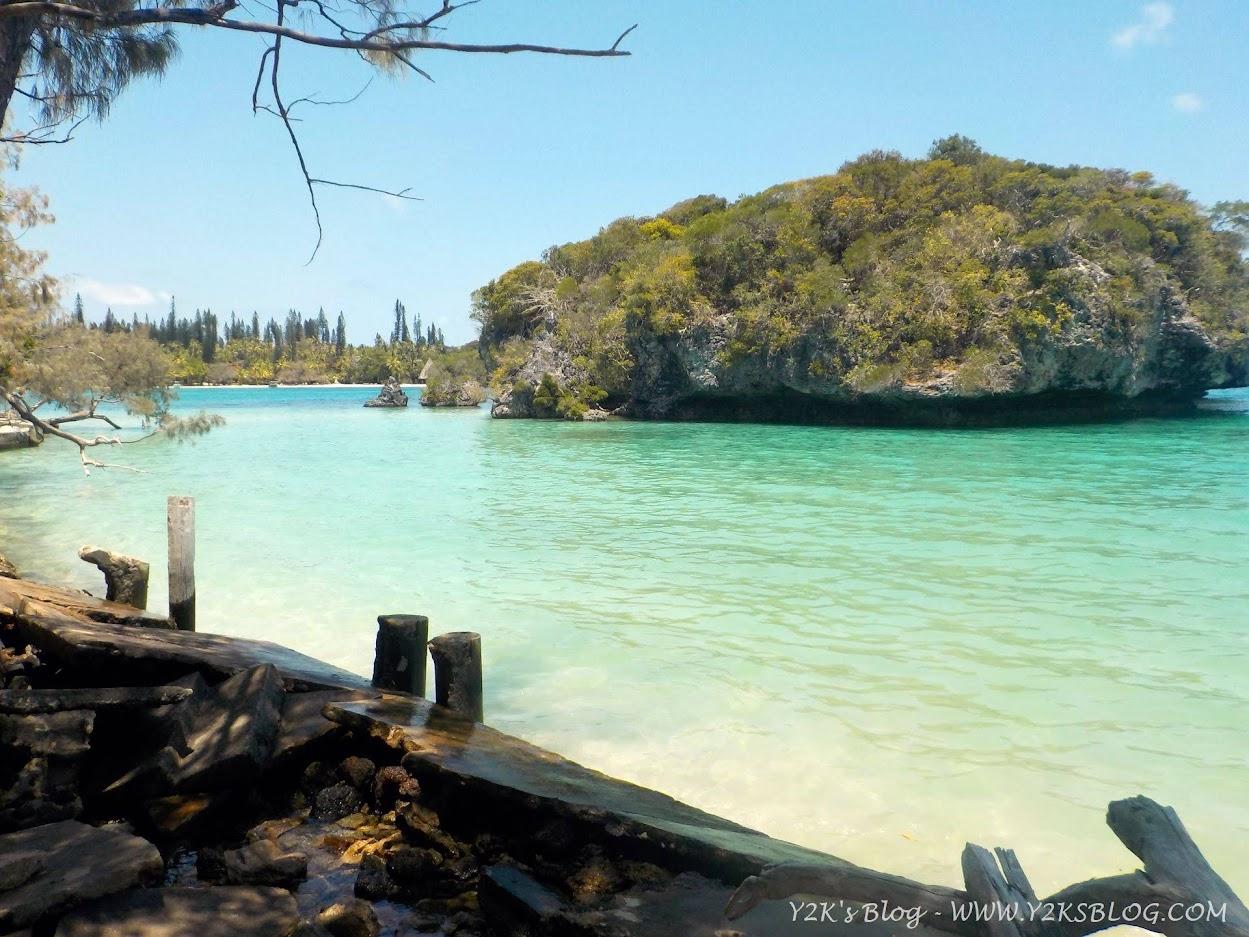 Baie de Kanumera e il suo omonimo isolotto - Isola dei Pini
