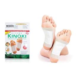 Set 50 plasturi homeopati cu turmalina pentru detoxifiere Kinoki