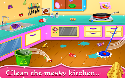 My Baby Doll House Tea Party Cleaning Game Android Apps on