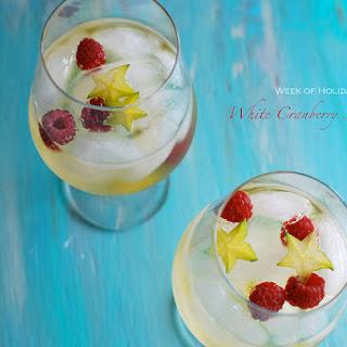 White Cranberry Sangria.