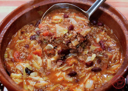 Super Easy Beef and Cabbage Soup & Video