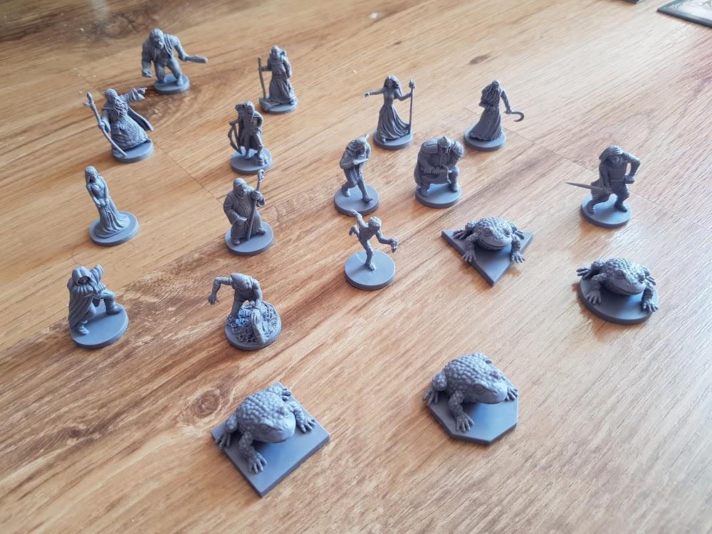 Talisman - figurki