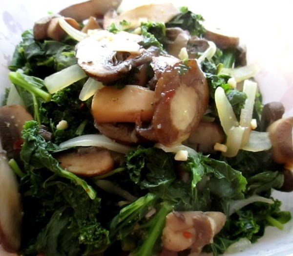 ~ Healthy Kale & Spinach Side ~ Recipe