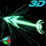 Gyro Arrow 3D Live Wallpaper icon
