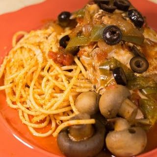 Classic Chicken Cacciatore Dinner