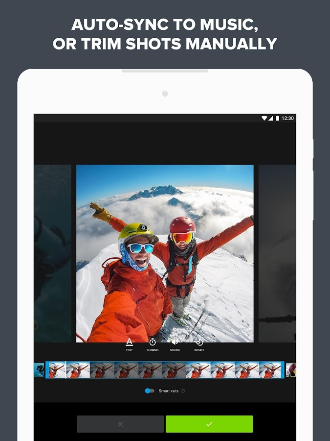 Quik – Free Video Editor for photos, clips, music- screenshot