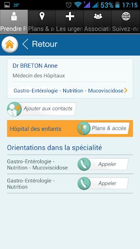 CHU de Toulouse screenshot 2