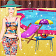 Summer Doll Dress up - Pool Cleaning & Decorating (game)