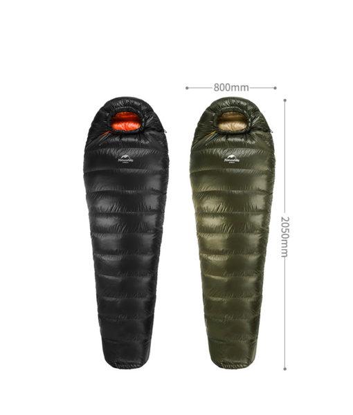 túi ngủ mùa đông naturehike