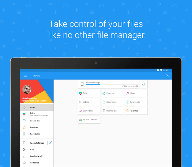 File Commander - Manager, Explorer and FREE Drive Screenshot 7