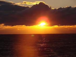 Photo: De Kust. Prachtige zonsondergang. Foto: onbekend