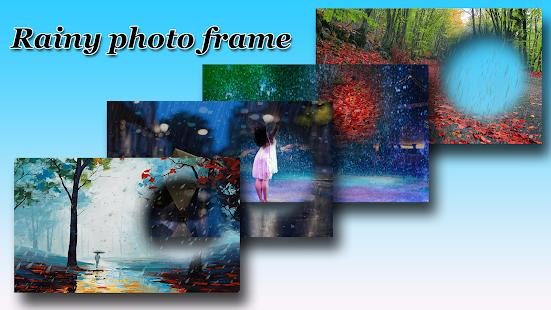 Rain Photo Frame - Rainy Photo Frame Editor - náhled