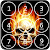 Skull Pin Screen Lock file APK for Gaming PC/PS3/PS4 Smart TV