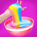 Diy Slime Maker Makeup Fluffy Slime Simulator Game icon