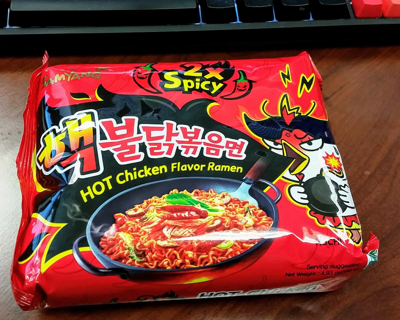 SamYang HOT Chicken Flavor