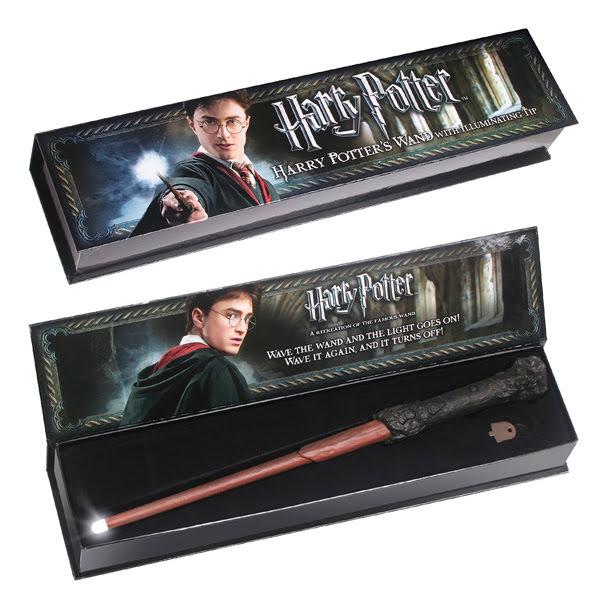 Świecąca różdżka Harrego Pottera