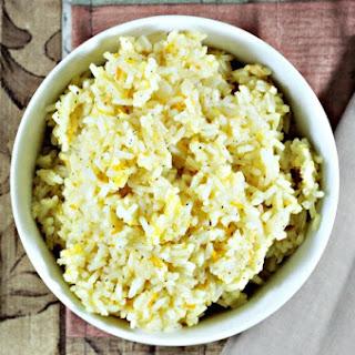 Orange Sticky Rice.