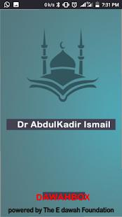Dr AbdulKadir Ismail Dawahbox for PC-Windows 7,8,10 and Mac apk screenshot 1