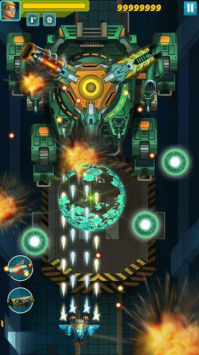Chiến đấu với phi thuyền boss khổng lồ