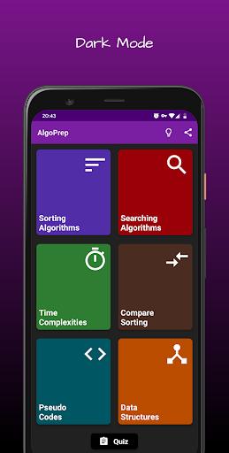 algoprep - algorithms & data structures made easy screenshot 1