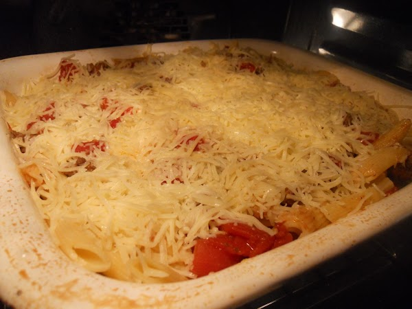 In a medium casserole dish (9 x 13) or use what will fit the...
