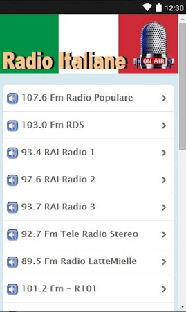 Radio Italy 1.02 screenshot 1372789