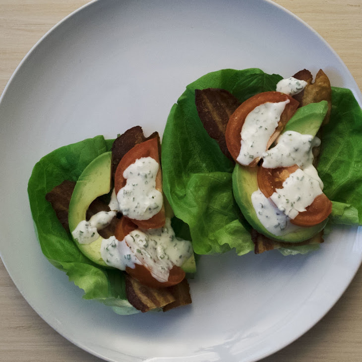 BLT Lettuce Wraps Recipe | Yummly