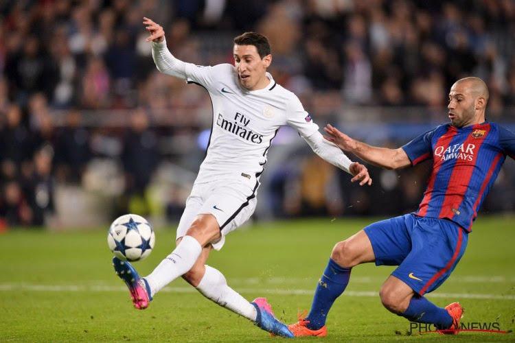 """Mascherano risque de faire rager les supporters parisiens: """"Je touche Di Maria"""""""