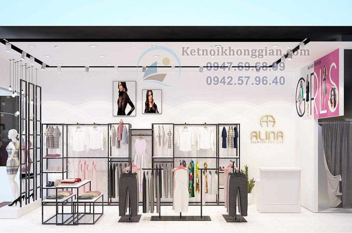 thiết kế shop thời trang chắc chắn bền đẹp