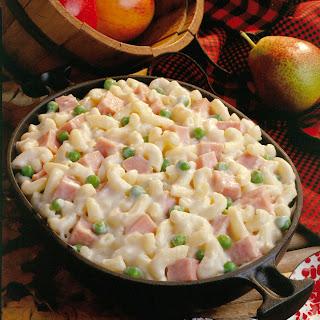 Cheesy Ham and Macaroni.
