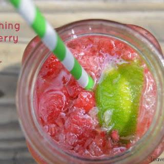 Raspberry Lime Seltzer
