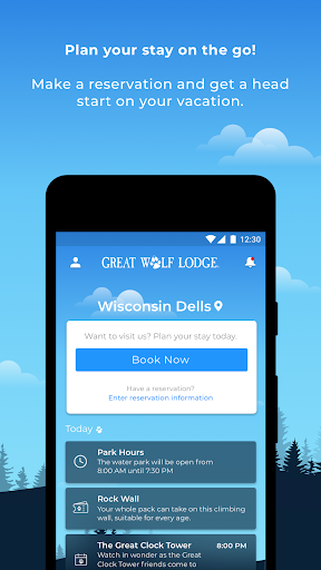 Great Wolf Lodge Mobile App 2.1.2 screenshots 1