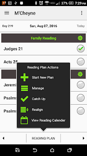 Bible Reading Plan - náhled