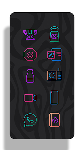 Lines Chroma – Icon Pack 7
