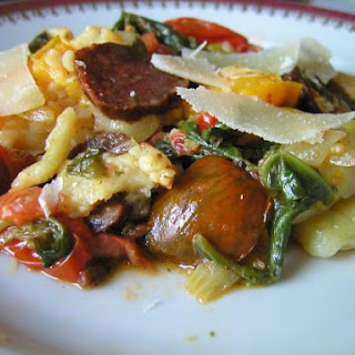 Gnocchi With Colourful Tomatoes