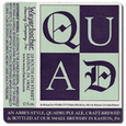 Logo of Weyerbacher Quad