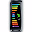 Gear Fit Curved Bar Clock icon