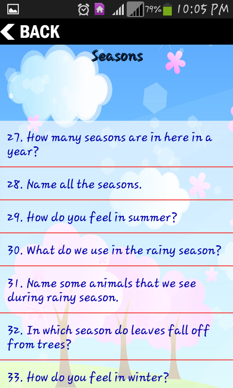 Kids conversation android apps on google play for Gardening tools 94 game answers
