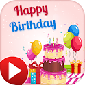 Birthday Video Songs Status - MV Video Maker icon