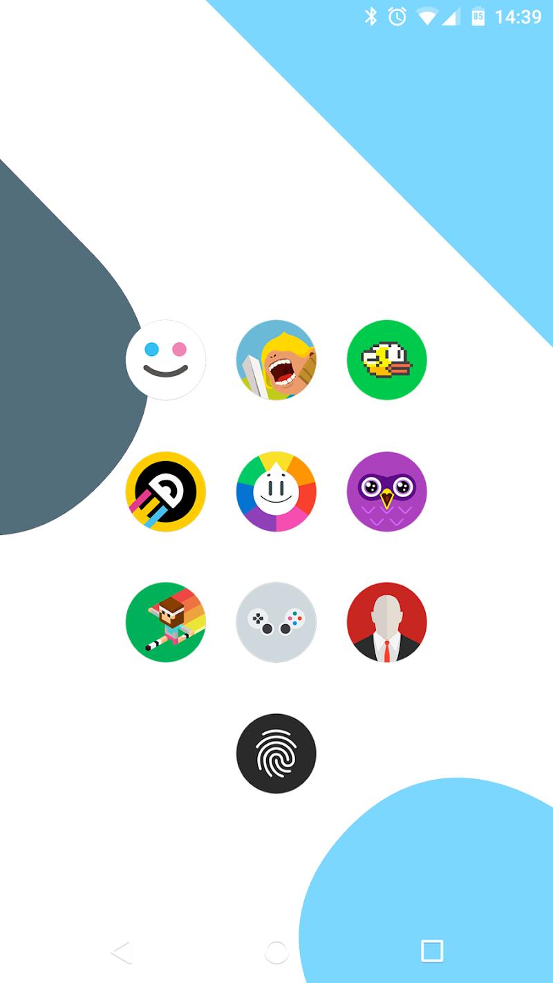 FlatDroid - Icon Pack Screenshot 1