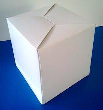Photo: Caixa (20) para panetones e bolos (vista de perfil).