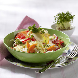 Low Fat Curried Rice Salad.