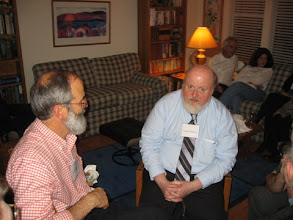 Photo: PROFESSORS TED WRIGHT AND LARRY MALONEY
